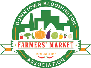 Image result for bloomington il farmers market logo